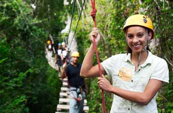 Tour 15. Tulum ruins, Selvatica's Zip Lines, Extreme Canopy $199 US. dollars per person