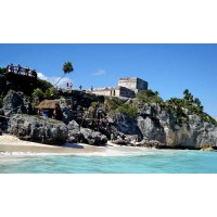 Tulum Mayan Ruins Express Early Half Day $90 per one person