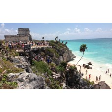 Tulum Mayan Ruins Express Early Half | Group Discount Rate $109.US dollars per person